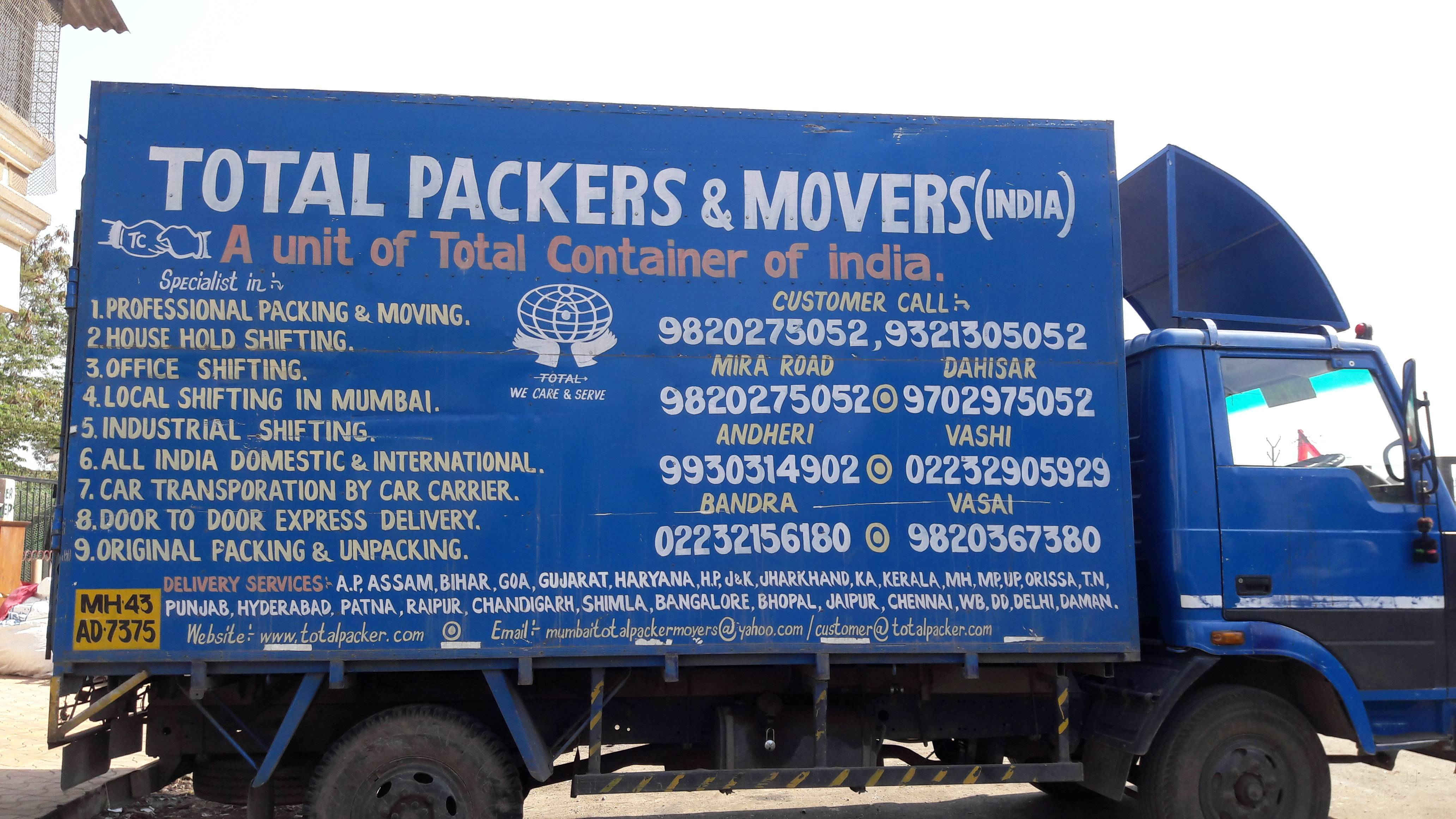 total packers and movers